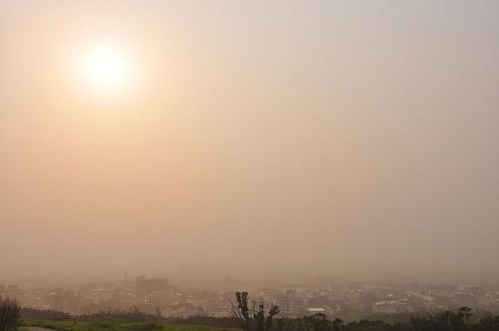 Burza pyłowa.