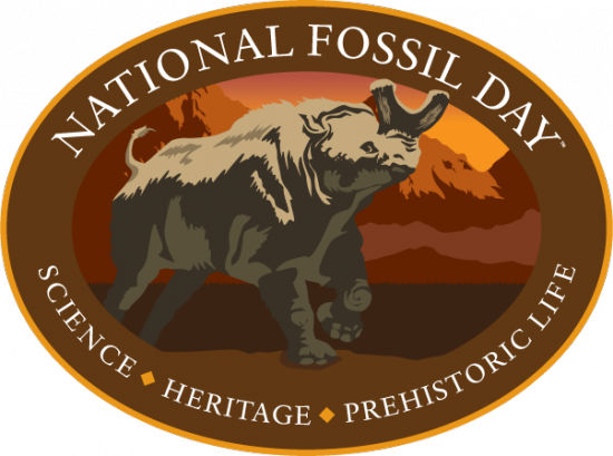 National Fossil Day - logo.