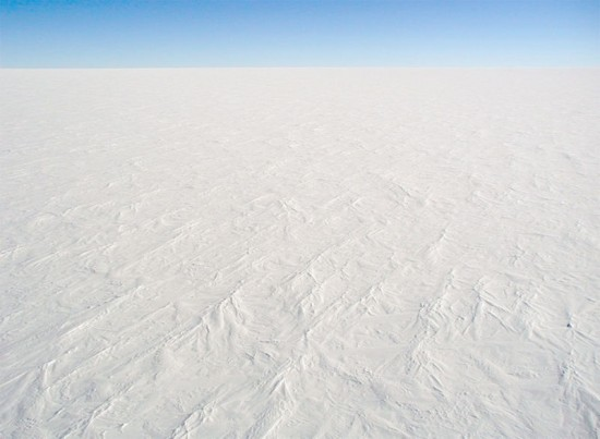 Lądolód na Antarktydzie.