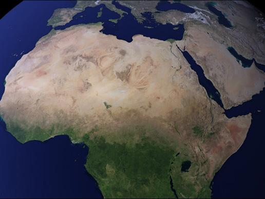 Afryka Północna.