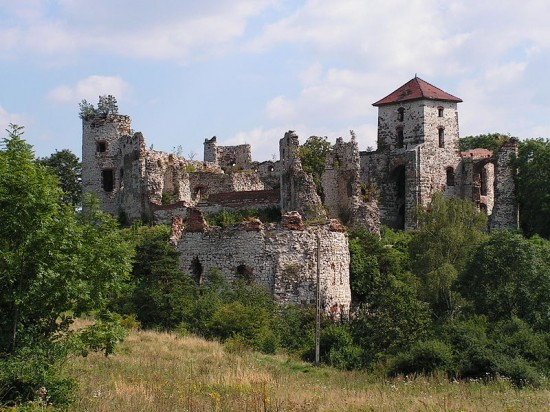 Zamek Tenczyn.