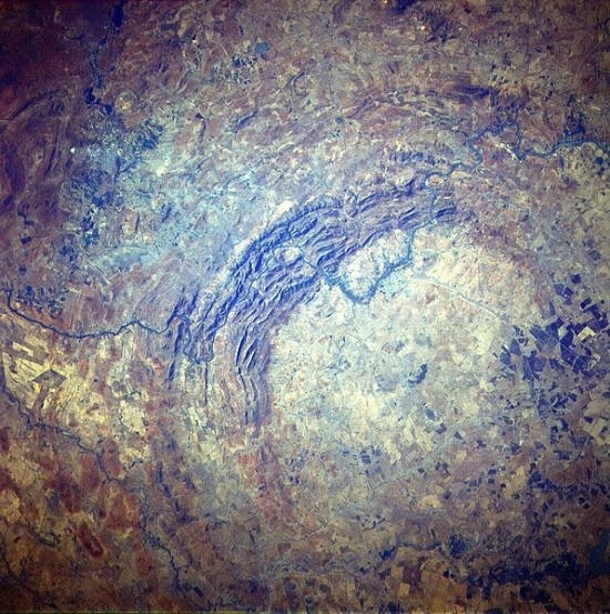 Krater Vredefort.