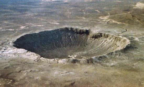 Krater Meteorytowy w stanie Arizona.