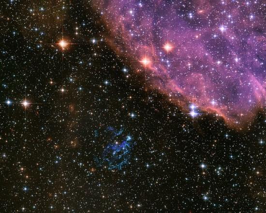 Mały Obłok Magellana.