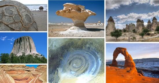 Najbardziej niesamowite atrakcje geologiczne świata.