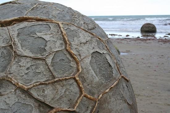 Moeraki Boulders (Nowa Zelandia).