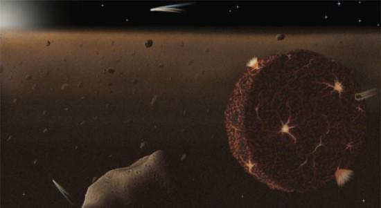 Młodośc Układu Słonecznego.