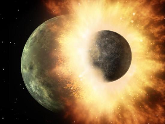 Powstanie Księżyca.