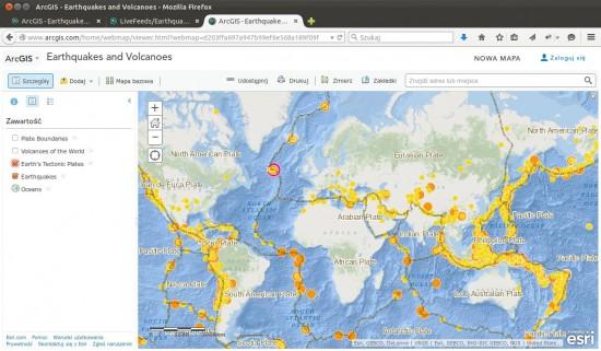 Trzęsienia ziemi i wulkany -- przyczyny.