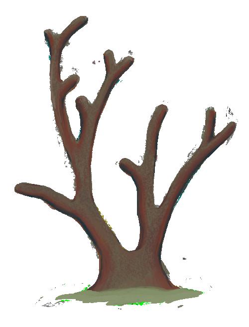 Dewońskie koralowce gałązkowe z grupy denkowców (rodzaj Thamnopora). Rys. Edyta Felcyn.