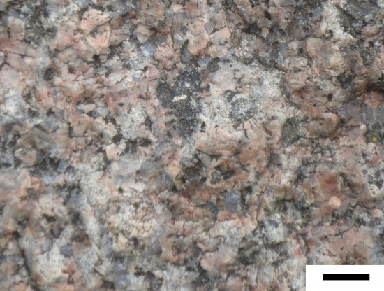 Kolorowy granit Smaland.