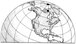 Ziemskie pole magnetyczne ma związek z położeniem kontynentów