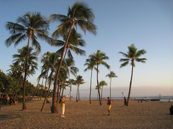Plaża Waikiki.