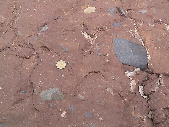 Osady zlodowacenia neoproterozoicznego w południowej Australii.