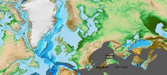 Europa, wczesna kreda, 130 mln lat temu.