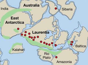 Kontynent sprzed miliarda lat i apogeum ruchów górotwórczych