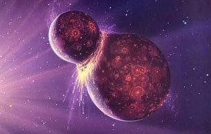 Zagrożenie kosmiczną kolizją jest dziś niewielkie. Nie zawsze tak było