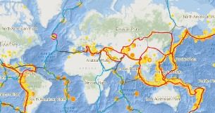 Przyczyny trzęsień ziemi i erupcji wulkanów w praktyce: warsztat