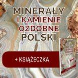 """Gra """"Minerały i kamienie ozdobne Polski"""" z książeczką."""