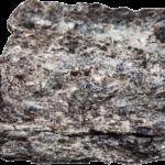 Łupek - skała przeobrażona.