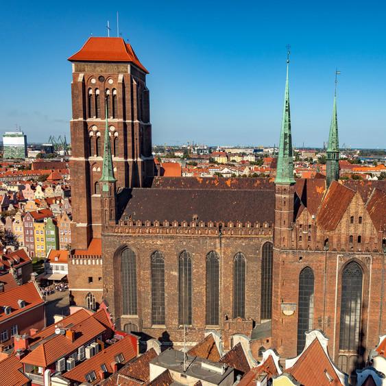 Bazylika Mariacka w Gdańsku.