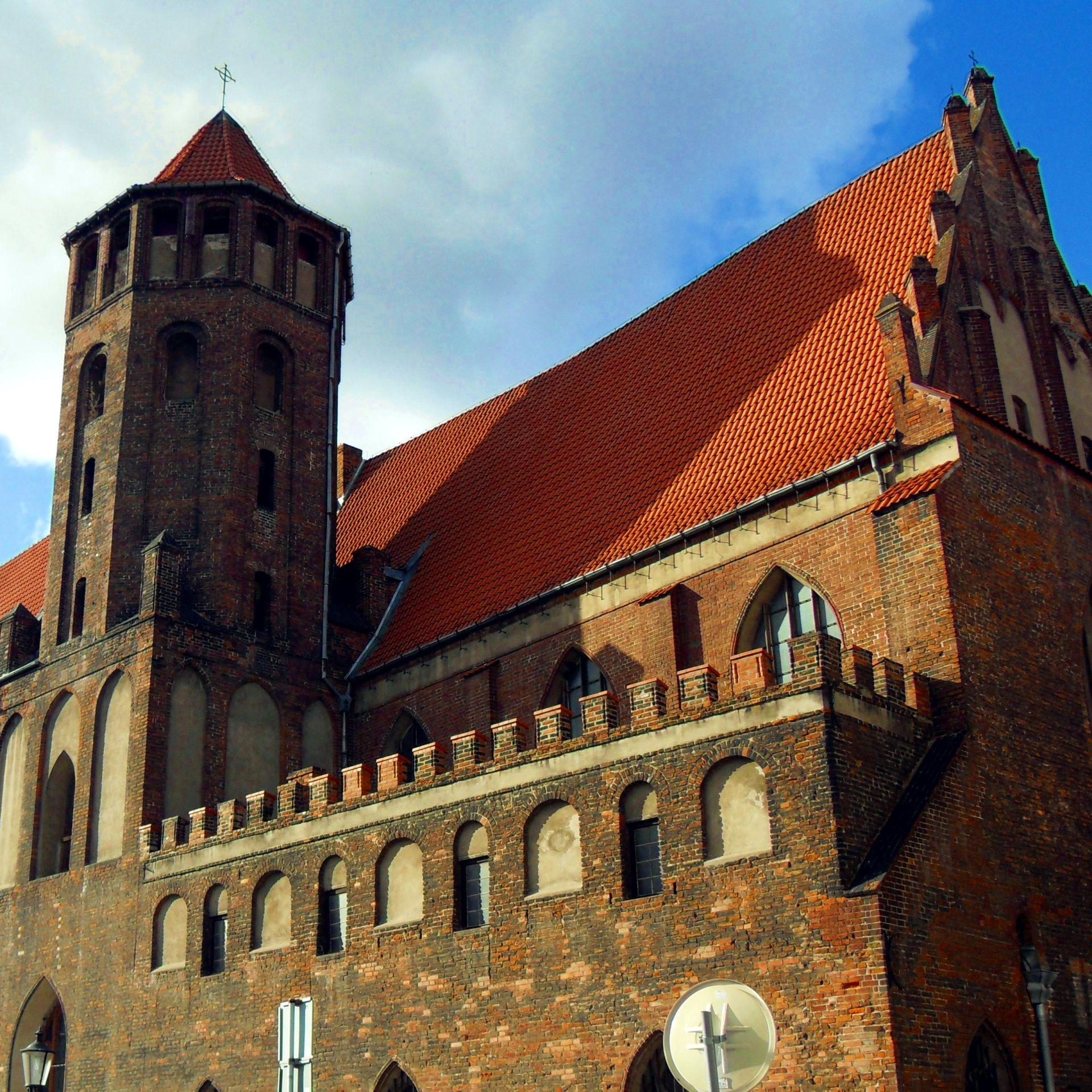 Kościół świętego Mikołaja w Gdańsku.