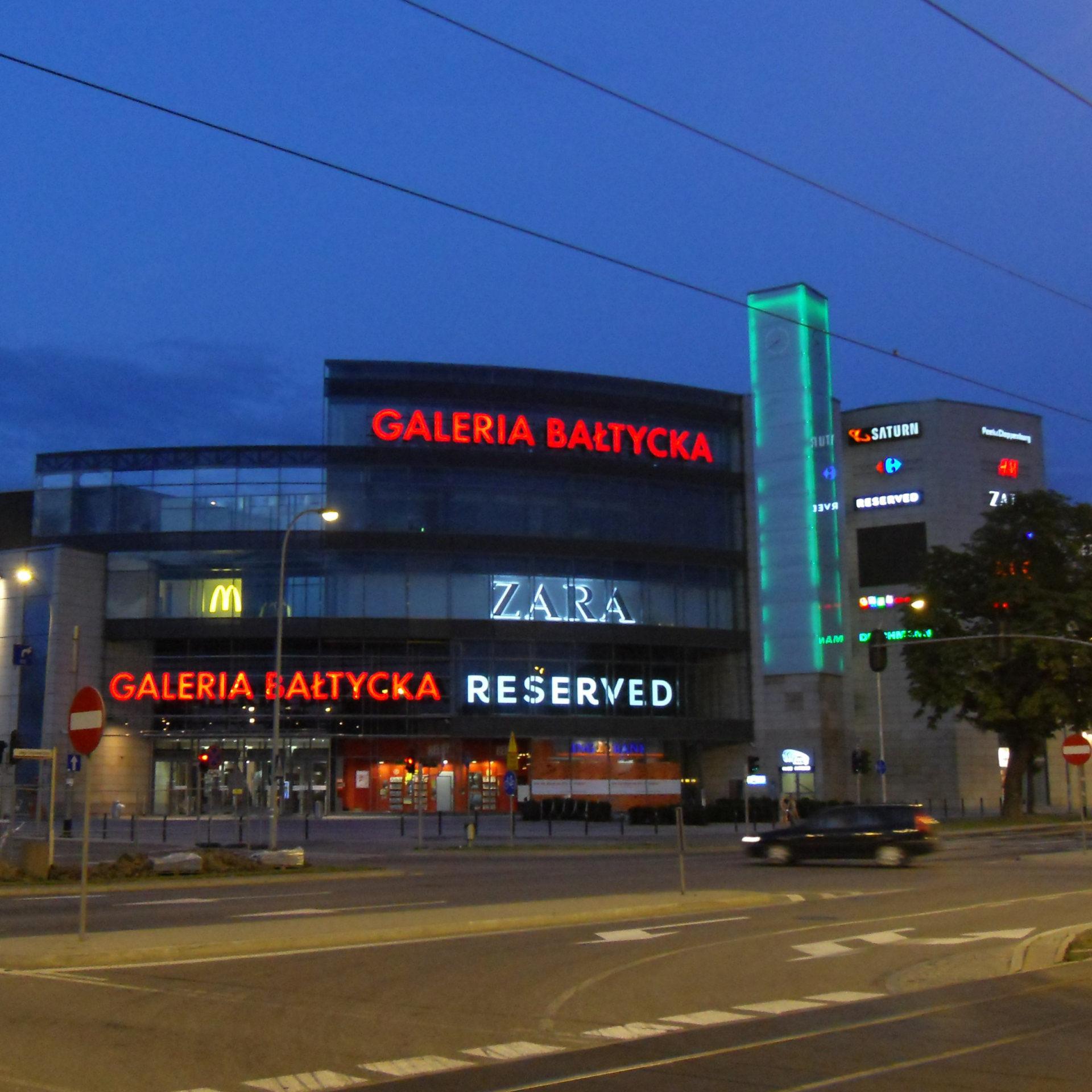Galeria Bałtycka.