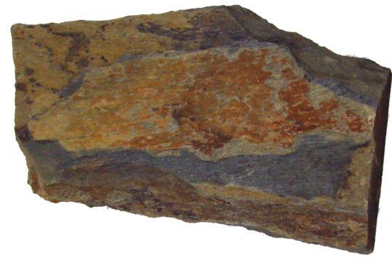 Łupek - skała przeobrażona (metamorficzna).