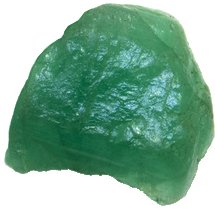 Szmaragd: zielona odmiana minerału berylu.