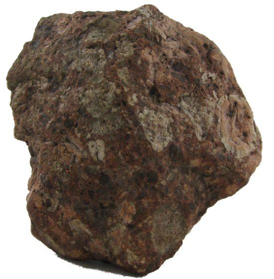 Granit rapakiwi (północna Polska), narzutniak polodowcowy.