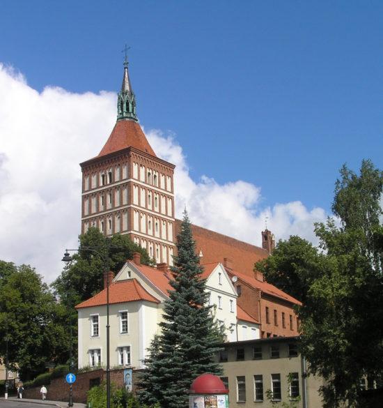 Bazylika konkatedralna w Olsztynie.