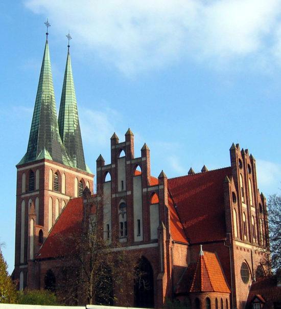 Kościół garnizonowy w Olsztynie.