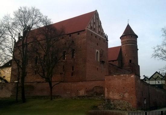 Olsztyn - zamek kapituły warmińskiej.