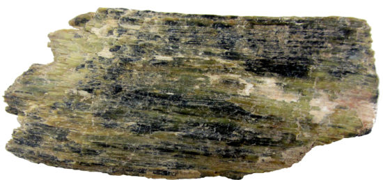 Serpentynit z Jordanowa Śląskiego - skała z minerałów z grupy serpentynów.