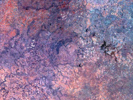 Krater Vredefort w RPA.