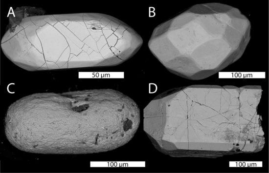 Cyrkony detrytyczne - najstarsze minerały świata.
