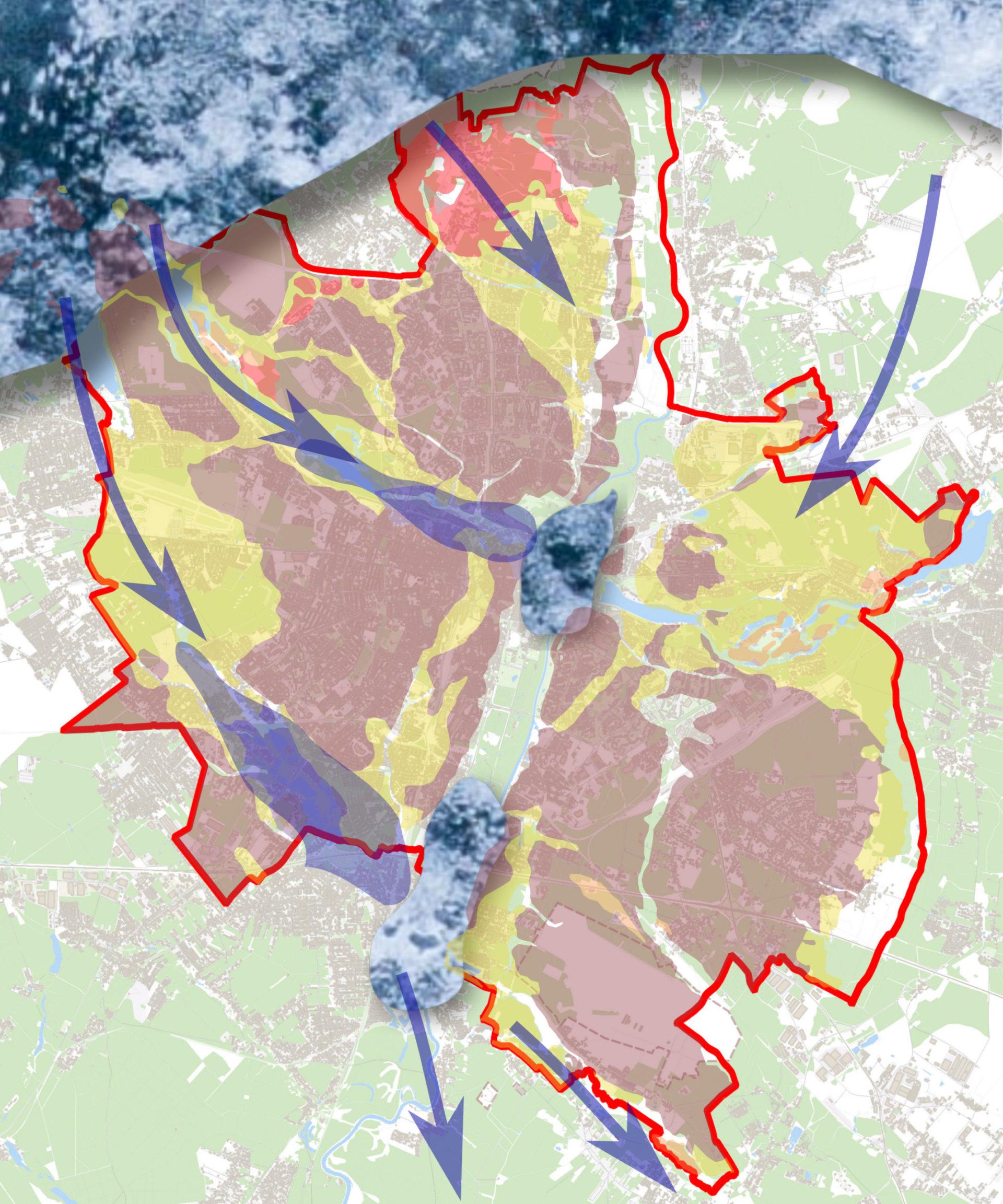 Poznań około 19 tysięcy lat temu, w fazie poznańskiej ostatniego zlodowacenia.